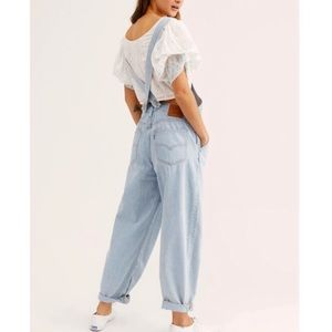 Levi's Baggy Overalls Light Wash Bigs and Smalls